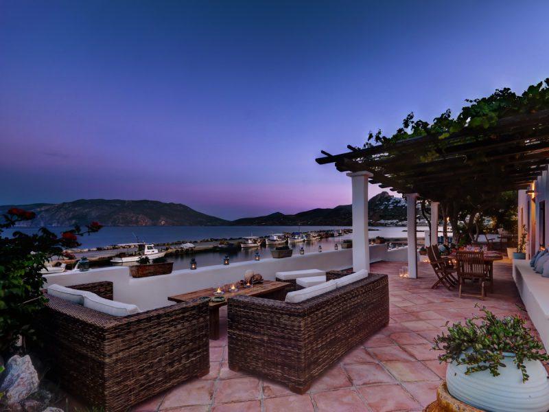 Romance In NEMIRE Villa Balcony