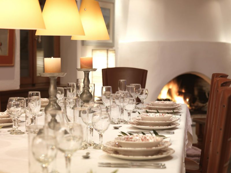 Dinner In NEMIRE Villa